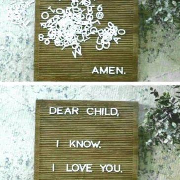 Mit lehet mondani, amikor imádkozok?